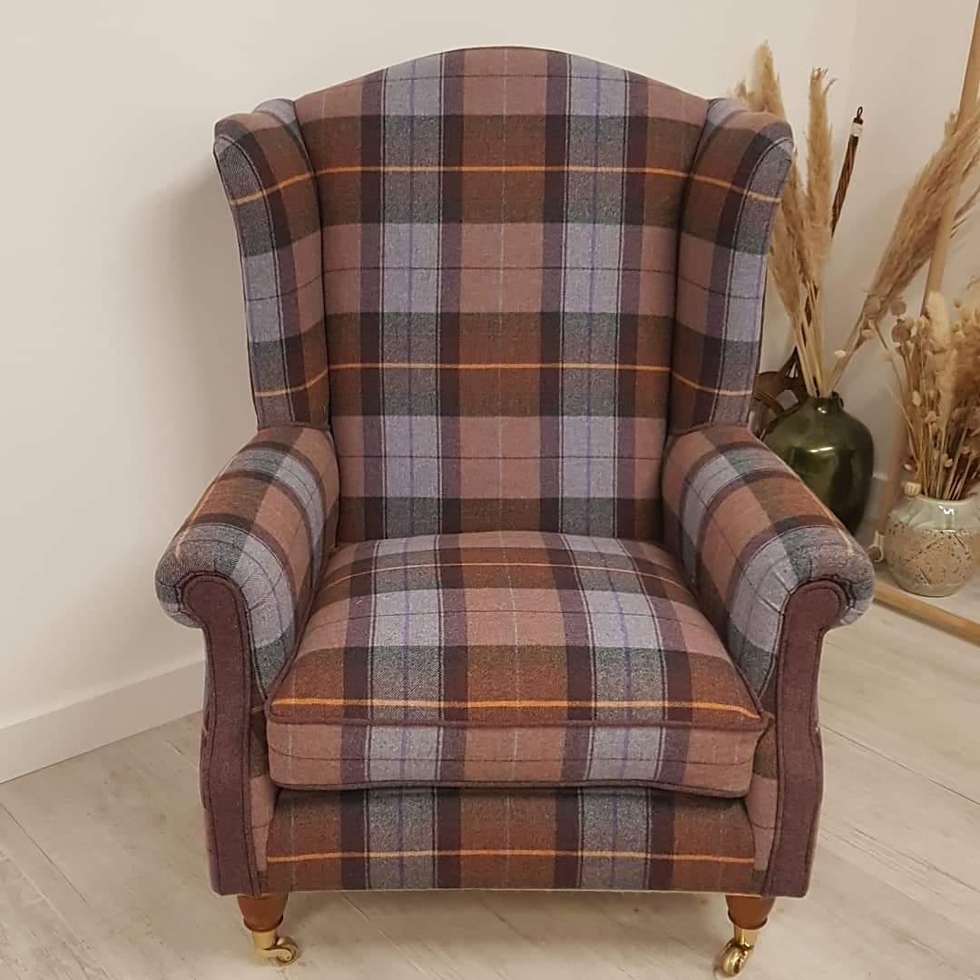 Modern upholstery, wingback
